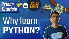 Python Hindi Tutorial